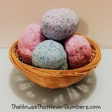easter egg surprises easter egg bath bombs diy the house that never