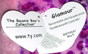 glamour extra large ty beanie boo leopard