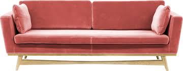 canapé frey canapé fifties 210 tissu velours frey chesterfield