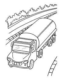 oil tanker truck coloring download free oil tanker truck