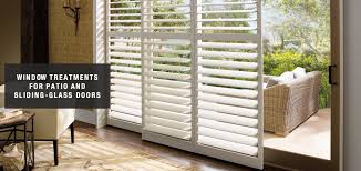 blinds shades u0026 shutters for sliding glass doors brentwood