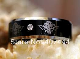 wars wedding bands free shipping ygk jewelry hot sales 8mm wars yoda his