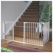 Baby Gates For Top Of Stairs With Banisters Good Child Safety Gates For Stairs Homesfeed