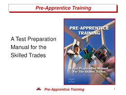 ppt a test preparation manual for the skilled trades powerpoint
