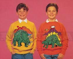 knitting pattern dinosaur jumper vintage adult childs dinosaurs jumper knitting patterns 90s pdf