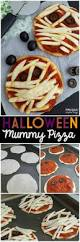 halloween mummy pizza kids halloween dinner