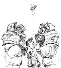 drawing of football players free download clip art free clip