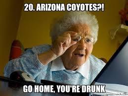 Arizona Memes - arizona coyotes