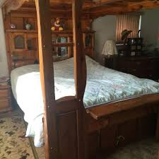 Captains Pedestal Bed Best Canopy Waterbed Suite Comes With Everything 18