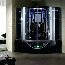showers steam shower sauna combination full size of