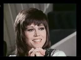 jane fonda klute haircut jane fonda interview youtube