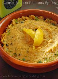 comment cuisiner le chou fleur ecrasé de chou fleur aux épices recette marocaine
