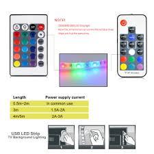 led strip lights remote 2835 smd rgb usb charger led strip light dc 5v usb cable led light