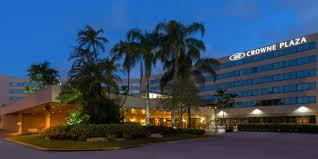 Miami International Mall Map by Miami Airport Hotel Crowne Plaza Miami International Airport