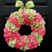hydrangea wreath nice home decor with charm hydrangea wreath