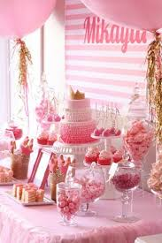 Table Party Decorations Best 25 Pink Party Tables Ideas On Pinterest Pink Party Themes