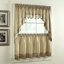 Sears Custom Window Treatments by Valance Kitchen Curtains At Sears Also Trends With Pictures