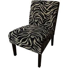 Zebra Accent Chair Better Homes And Gardens Slipper Accent Chair Zebra Walmart