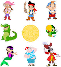 map clipart jake and the neverland pirates pencil and in color
