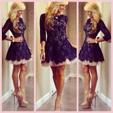 modest lace illusion 2016 sheer homecoming dresses 3 4 long sleeve
