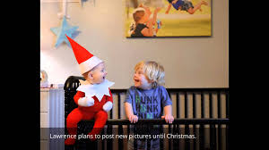 that dad blog u0027s alan lawrence turns baby into elf on the shelf on