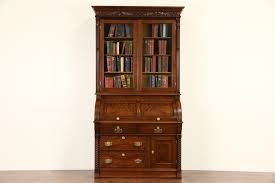 Small Drop Front Secretary Desk by Sold Secretaries Harp Gallery Antiques