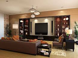 Brown Accent Wall by Light Brown Living Room Walls U2013 Modern House
