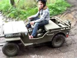 mini jeep for kids homemade mini jeep willys for children youtube