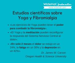 imagenes estudios yoga fibromialgia tratamiento con yoga y meditación widemat