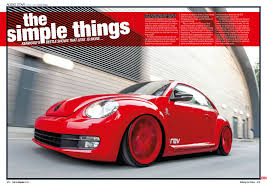 volkswagen fast car feature kenwood beetle in fast car magazine u2039 kenwood car audio