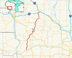 Wisconsin State Map With Cities by Wisconsin Highway 131 Wikipedia