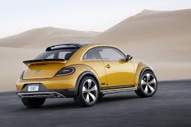 2017 volkswagen beetle dune road volkswagen beetle dune concept takes to the road