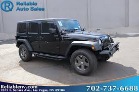 are jeep wranglers reliable used jeep for sale in las vegas nv reliable auto sales