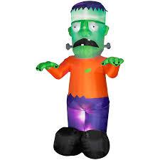 shop gemmy 12 u0027 inflatable frankenstein at lowes com
