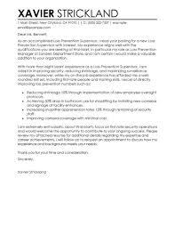Loss Prevention Resume Loss Prevention Cover Letter