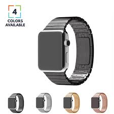 butterfly link bracelet images Apple watch band stainless steel link bracelet w butterfly lock png