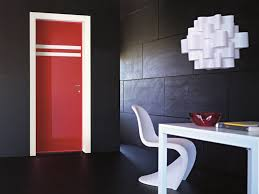 hundred 8ft red glossy interior door