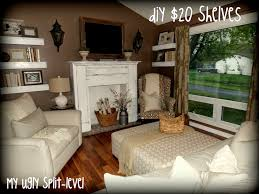 Living Room Decorating Ideas Split Level My Ugly Split Level Furniture Layout For The Home Pinterest