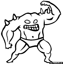 Coloring Pages Monsters Monsters Online Coloring Pages Page 1