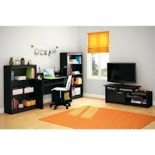 Bookcase Black Wood Living Console Table 2 Shelf Bookcase White Oak Black Wood 2 Shelf