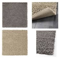ikea hampen rug carpet 80x80 cm high pile durable high quality