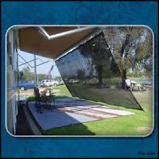 Camping Trailer Awnings 8 U0027 X 20 U0027 Rv Camper Trailer Awning Complete Kit Camping Sun Shade