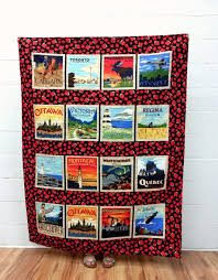 Quilting Kits Discover Canada Cityscapes Quilt Kit Quilting