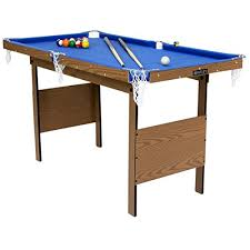 pool table accessories amazon charles bentley kids junior 4ft blue pool games table with spots
