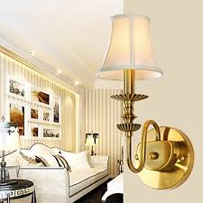 classic bedroom wall lamps simple metal living room wall sconce