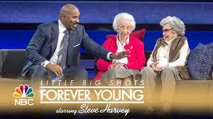 big shots young couple feisty grandmas