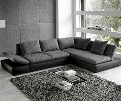 ecksofa jowa wohnlandschaft saneta 326x208cm schwarz grau mit bett living
