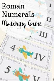 printable greek numbers roman numerals memory game the glorious flight go along fun