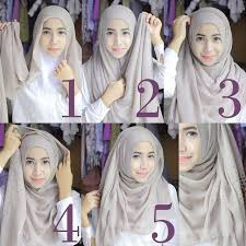 tutorial jilbab remaja yang simple 18 best hijab style images on pinterest hijab styles hijab