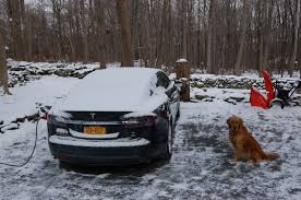 tesla model s cross country trip without many superchargers